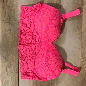 PINK Victoria Secret Lace Braleette